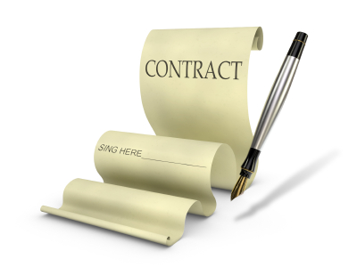 contracts department,contracts,contracting,agreement